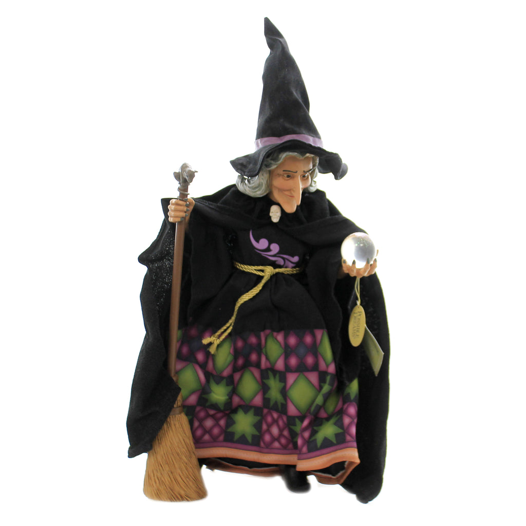 Witch's Crystal Ball 6006449 Jim Shore Figurines - SBKGIFTS.COM - SBK Gifts Christmas Shop Cincinnati - Story Book Kids