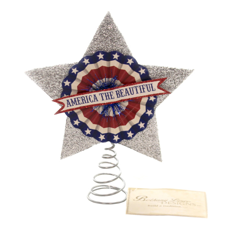 Americana Tree Topper Tf9108 Patriotic Tree Toppers And Finials - SBKGIFTS.COM - SBK Gifts Christmas Shop Cincinnati - Story Book Kids