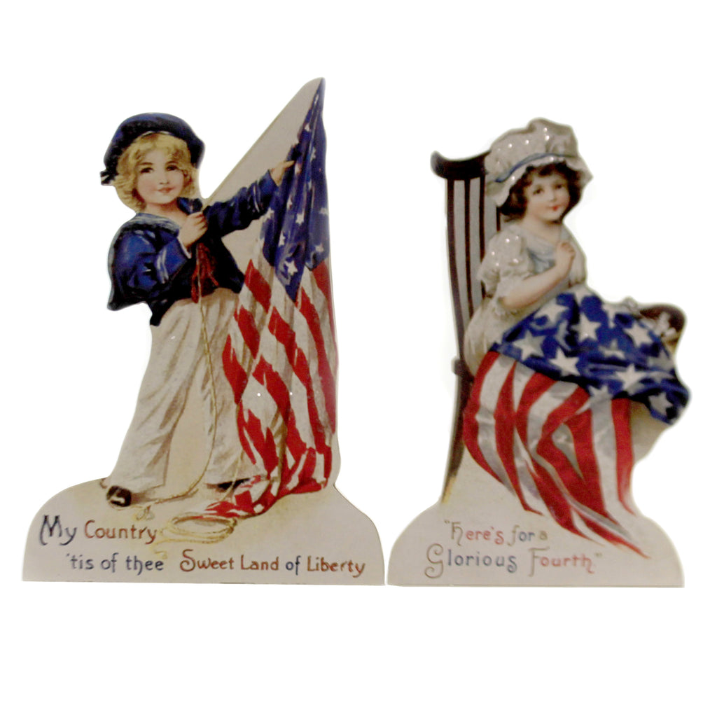 Americana Dummy Board Set/2 Rl6571 Patriotic Signs And Plaques - SBKGIFTS.COM - SBK Gifts Christmas Shop Cincinnati - Story Book Kids