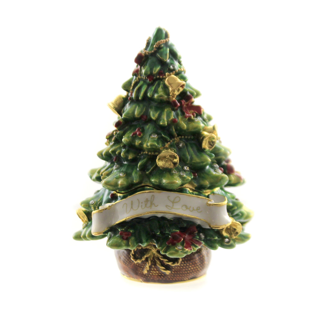 With Love Christmas Tree 3365. Hinged Trinket Box Hinged Trinket Boxes And Trinket Boxes - SBKGIFTS.COM - SBK Gifts Christmas Shop Cincinnati - Story Book Kids