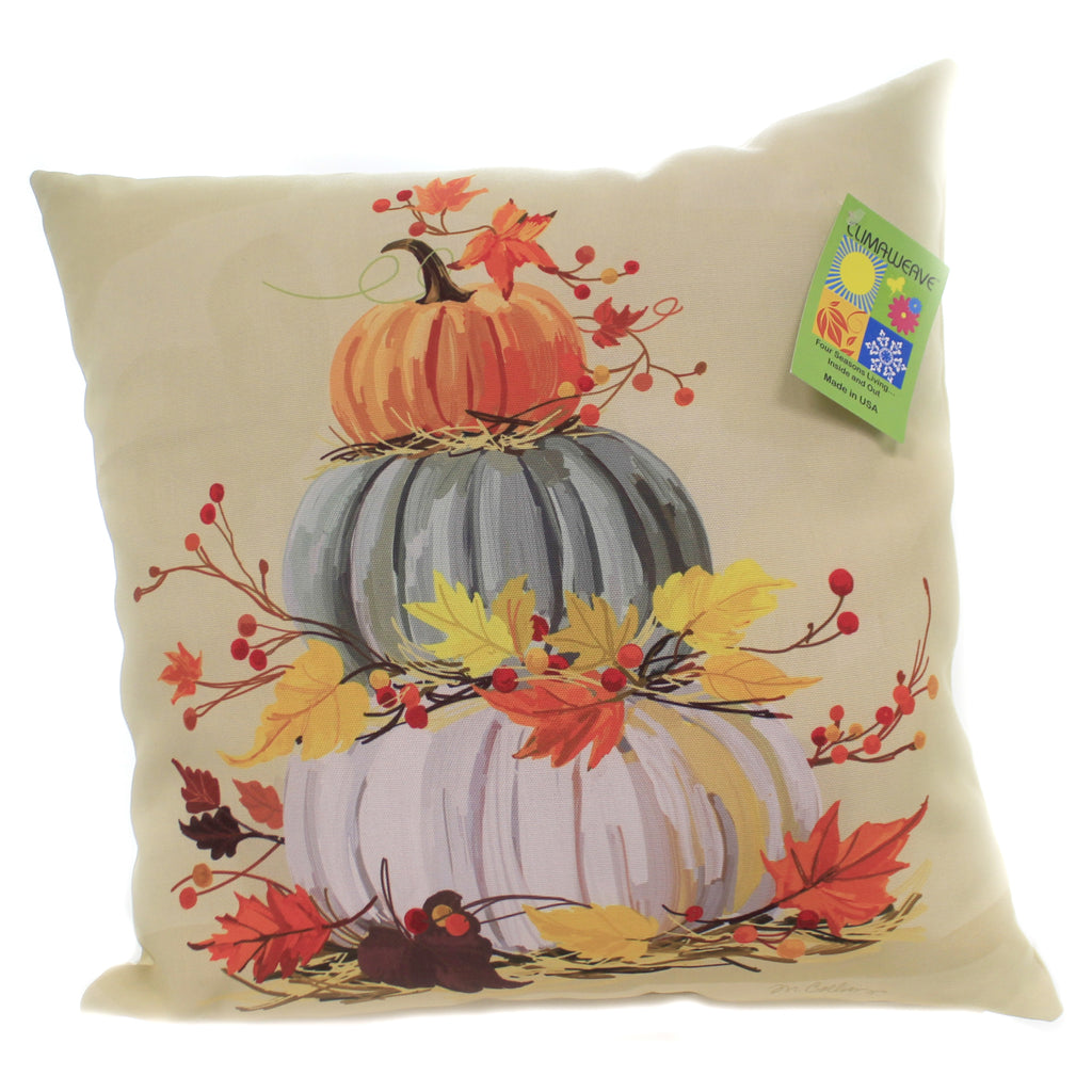 Stacked Pumpkins Pillow Slskpk Fall Decorative Pillows - SBKGIFTS.COM - SBK Gifts Christmas Shop Cincinnati - Story Book Kids