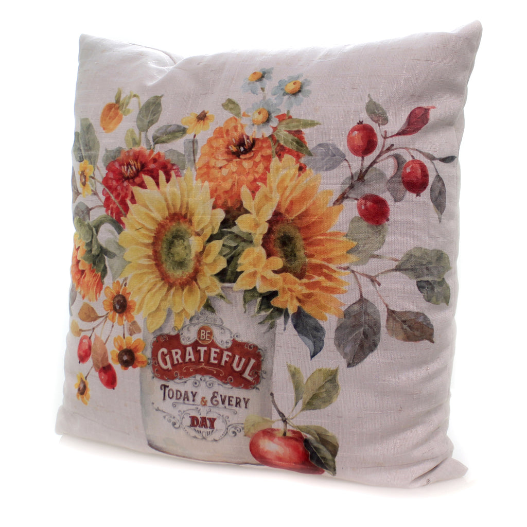 Autumn In Bloom Pillow Slablm Fall Decorative Pillows - SBKGIFTS.COM - SBK Gifts Christmas Shop Cincinnati - Story Book Kids