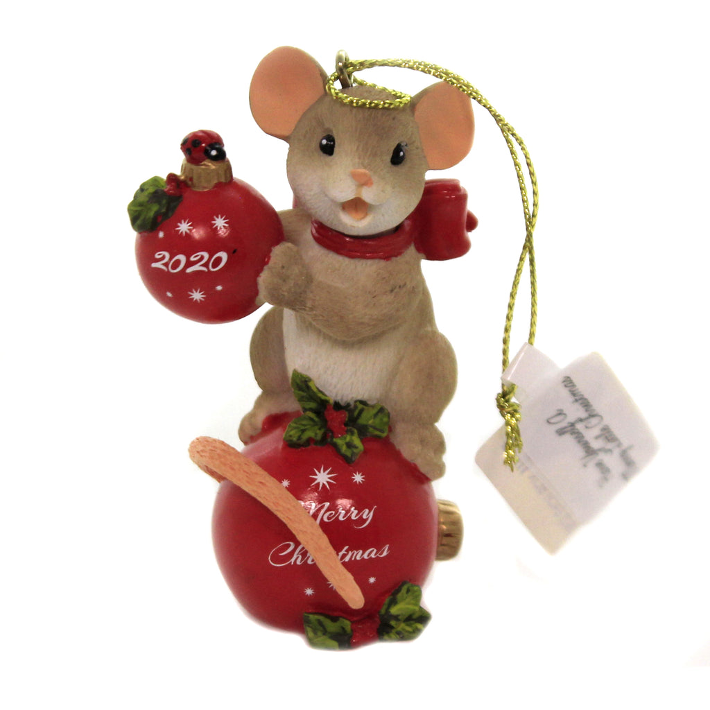 Have A Merry Little Christmas 133495 Charming Tails Resin Ornaments - SBKGIFTS.COM - SBK Gifts Christmas Shop Cincinnati - Story Book Kids