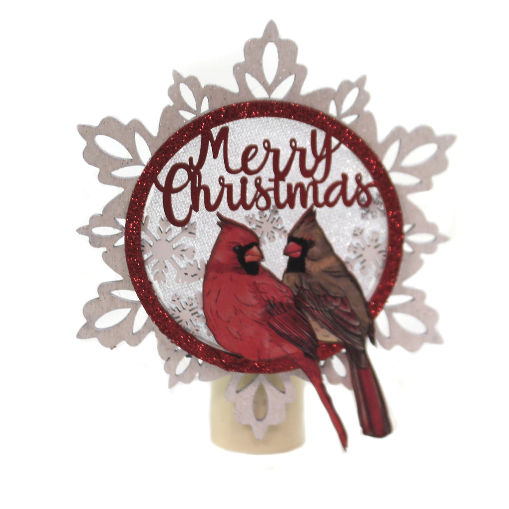 Cardinal Night Light 133625 Christmas Night Lights - SBKGIFTS.COM - SBK Gifts Christmas Shop Cincinnati - Story Book Kids
