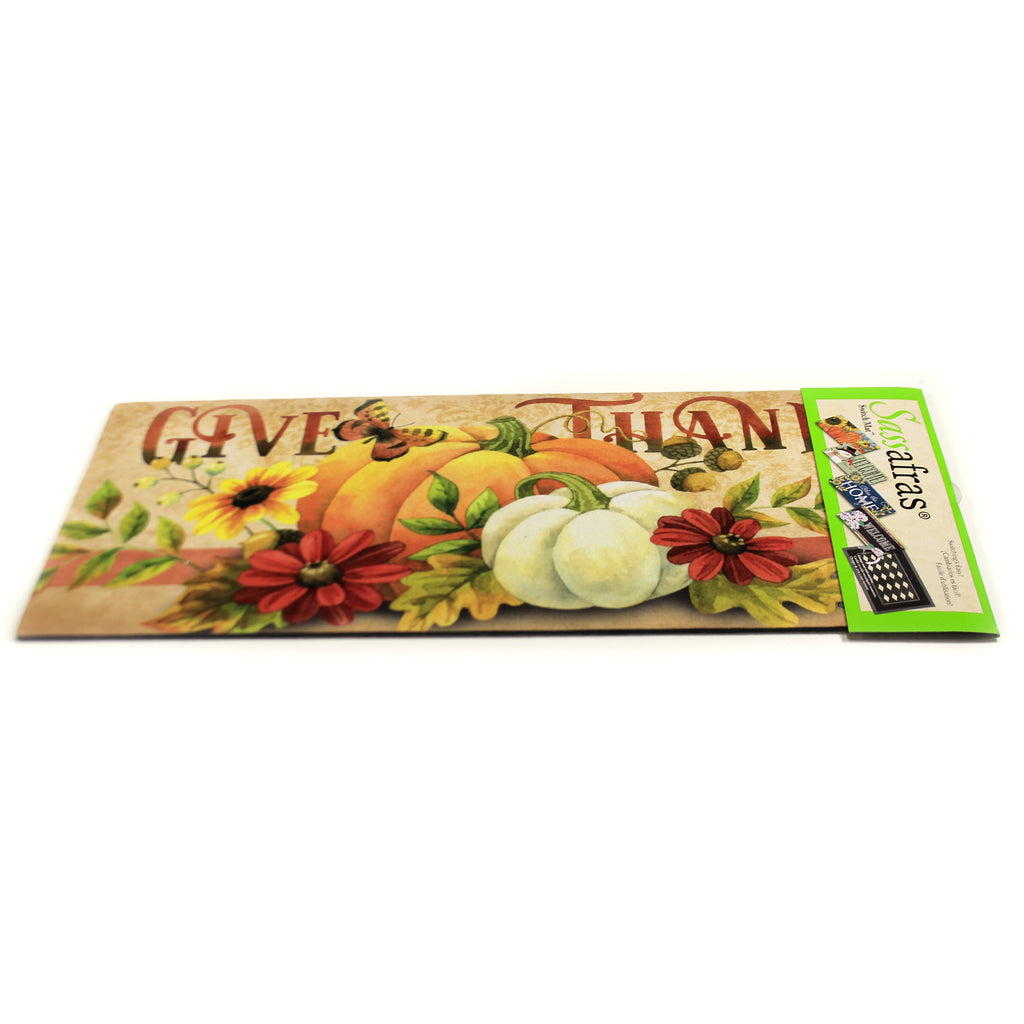 Give Thanks Switch Mat 431694 Home & Garden Door Mats - SBKGIFTS.COM - SBK Gifts Christmas Shop Cincinnati - Story Book Kids