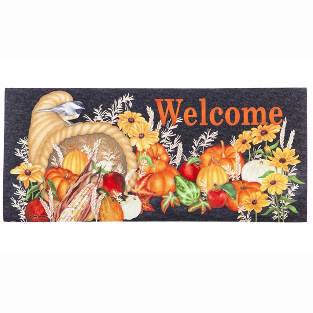 Harvest Cornucopia Switch Mat 431558 Home & Garden Door Mats - SBKGIFTS.COM - SBK Gifts Christmas Shop Cincinnati - Story Book Kids