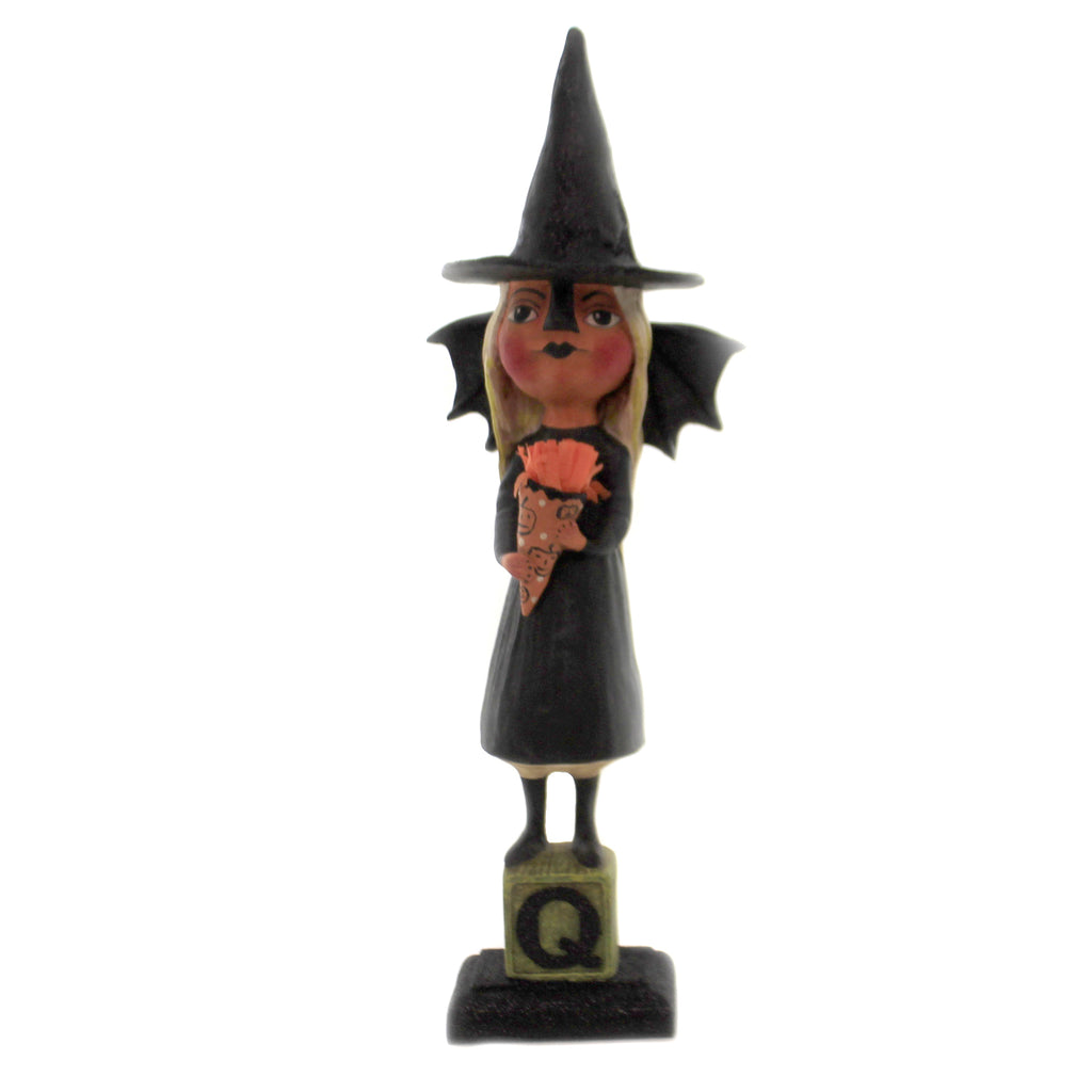 Witchy Bat Girl Hh9216 Halloween Figurines - SBKGIFTS.COM - SBK Gifts Christmas Shop Cincinnati - Story Book Kids