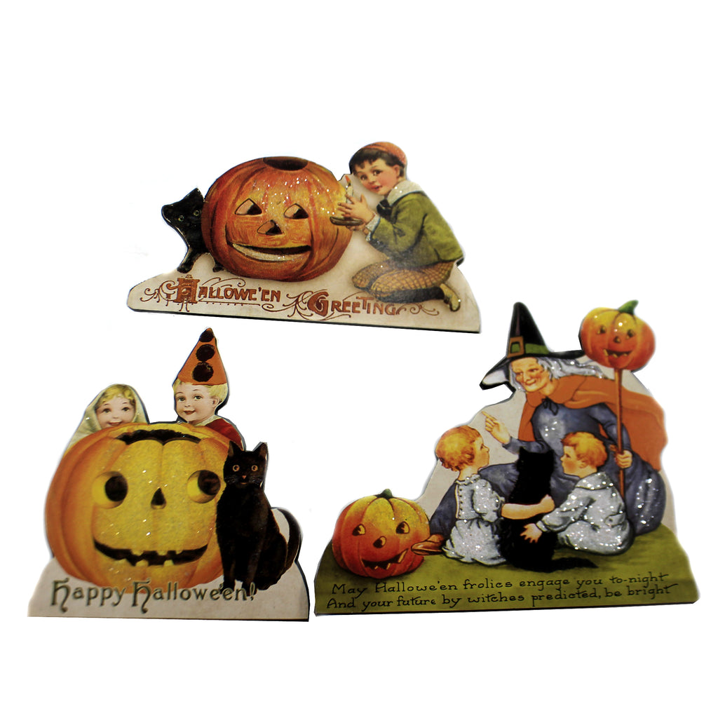 Happy Halloween Dummy Board S/3 Rl6584 Halloween Home Decor - SBKGIFTS.COM - SBK Gifts Christmas Shop Cincinnati - Story Book Kids
