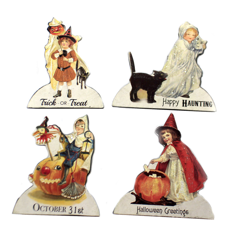Treat Treat Child Dummy Boards Rl7300 Set/4 Halloween Home Decor - SBKGIFTS.COM - SBK Gifts Christmas Shop Cincinnati - Story Book Kids