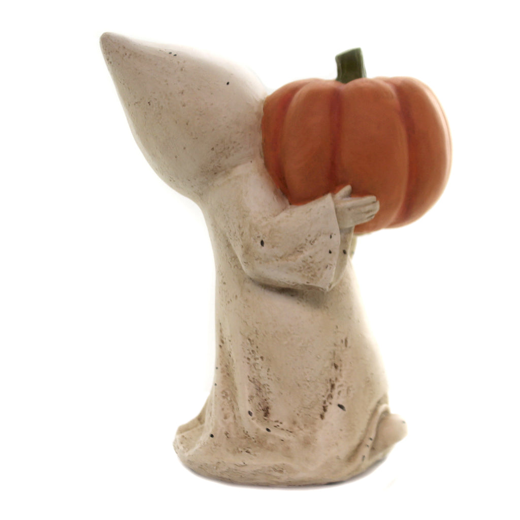 Little Ghost W/ Jack O'lantern Kl7554 Halloween Figurines - SBKGIFTS.COM - SBK Gifts Christmas Shop Cincinnati - Story Book Kids