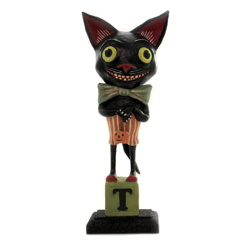 Smiley Black Cat Hh9218 Halloween Figurines - SBKGIFTS.COM - SBK Gifts Christmas Shop Cincinnati - Story Book Kids