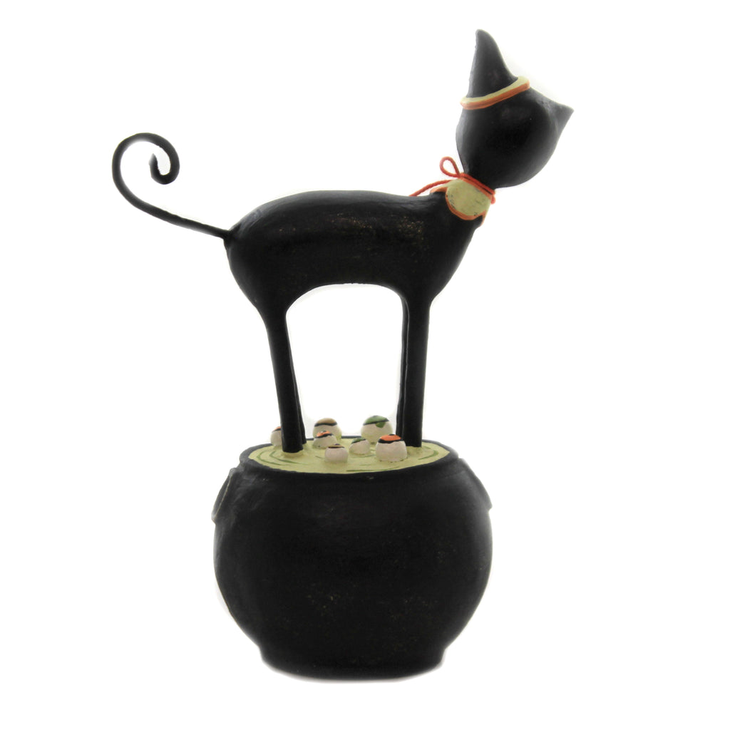 Black Cat Spooky Potion Ml9286 Halloween Figurines - SBKGIFTS.COM - SBK Gifts Christmas Shop Cincinnati - Story Book Kids