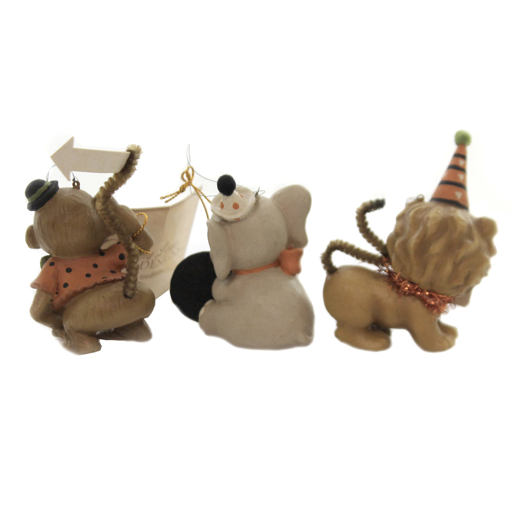 Big Top Animals Td7632 Halloween Resin Ornaments - SBKGIFTS.COM - SBK Gifts Christmas Shop Cincinnati - Story Book Kids