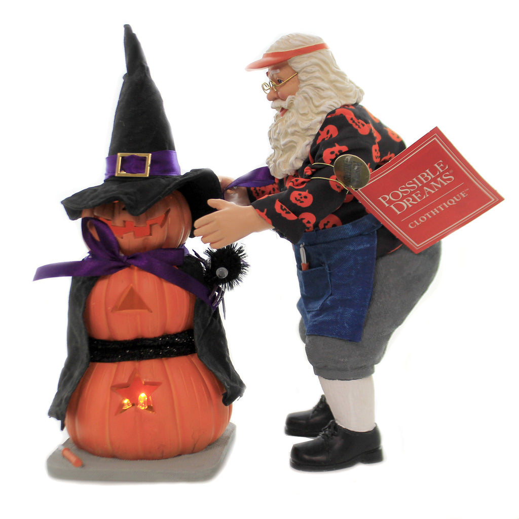 Pumpkin Witch 6006452 Possible Dreams Figurines - SBKGIFTS.COM - SBK Gifts Christmas Shop Cincinnati - Story Book Kids