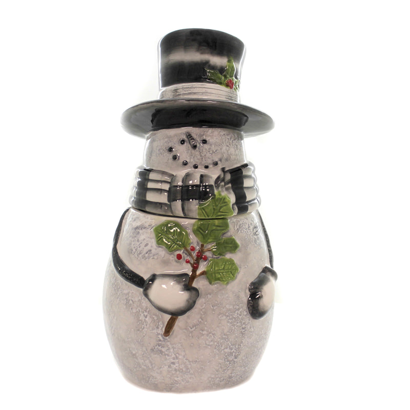 Sketchbook Snowman Cookie Jar 9990696 Tabletop Cookie Jars - SBKGIFTS.COM - SBK Gifts Christmas Shop Cincinnati - Story Book Kids