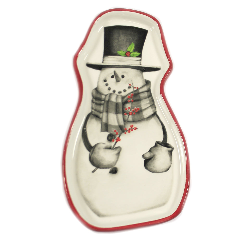 Sketchbook Snowman Spoon Rest 9990698 Tabletop Other Decorative Serveware And Kitchen Accessories - SBKGIFTS.COM - SBK Gifts Christmas Shop Cincinnati - Story Book Kids