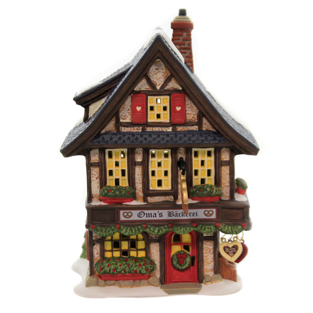 Oma's Bakery 6005375 Department 56 House Department 56 Village Buildings - SBKGIFTS.COM - SBK Gifts Christmas Shop Cincinnati - Story Book Kids