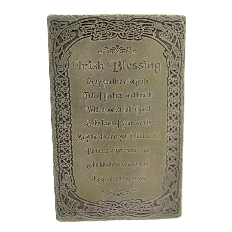 Irish Blessing Wall Plaque 64074 Home Decor Signs And Plaques - SBKGIFTS.COM - SBK Gifts Christmas Shop Cincinnati - Story Book Kids