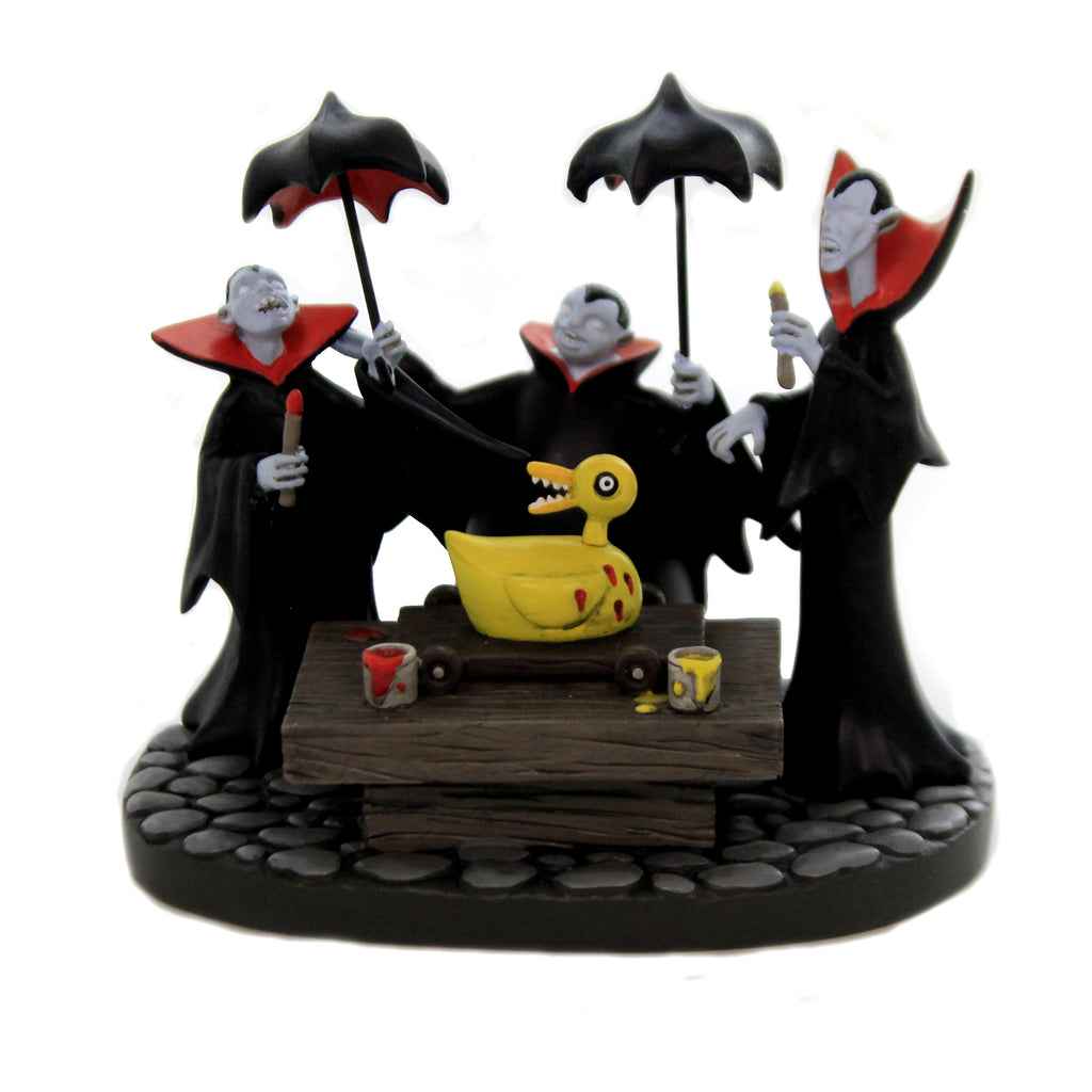 Vampire Brothers Prepare Duck 6005596 Department 56 Accessory Department 56 Village Accessories - SBKGIFTS.COM - SBK Gifts Christmas Shop Cincinnati - Story Book Kids