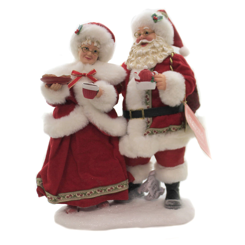 Cocoa And Cookies 6005278 Possible Dreams Figurines - SBKGIFTS.COM - SBK Gifts Christmas Shop Cincinnati - Story Book Kids