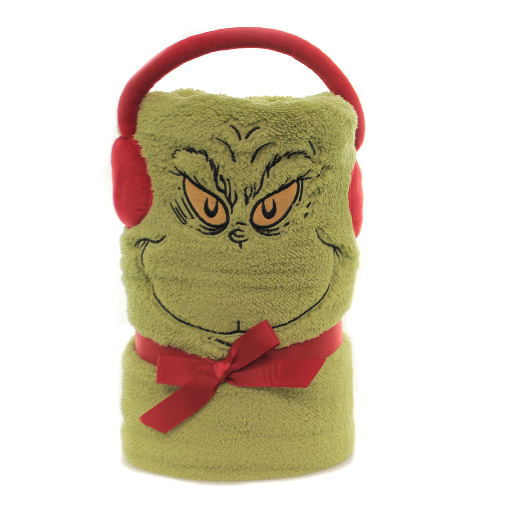 Grinch Snowthrow 6003284 Christmas Home Decor - SBKGIFTS.COM - SBK Gifts Christmas Shop Cincinnati - Story Book Kids