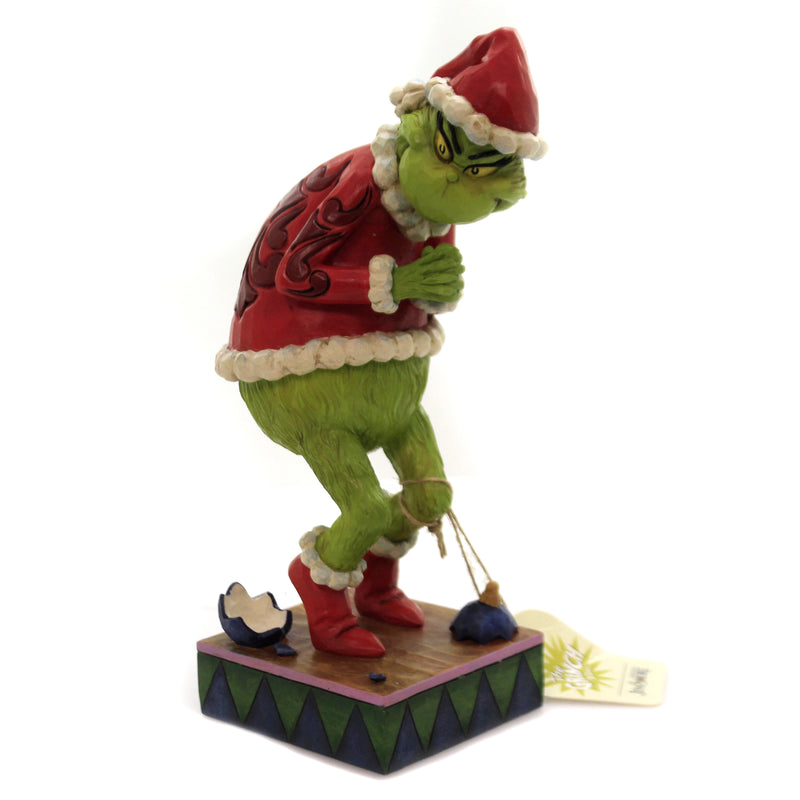 Sneaky Grinch Hands Clenched 6006566 Jim Shore Figurines - SBKGIFTS.COM - SBK Gifts Christmas Shop Cincinnati - Story Book Kids