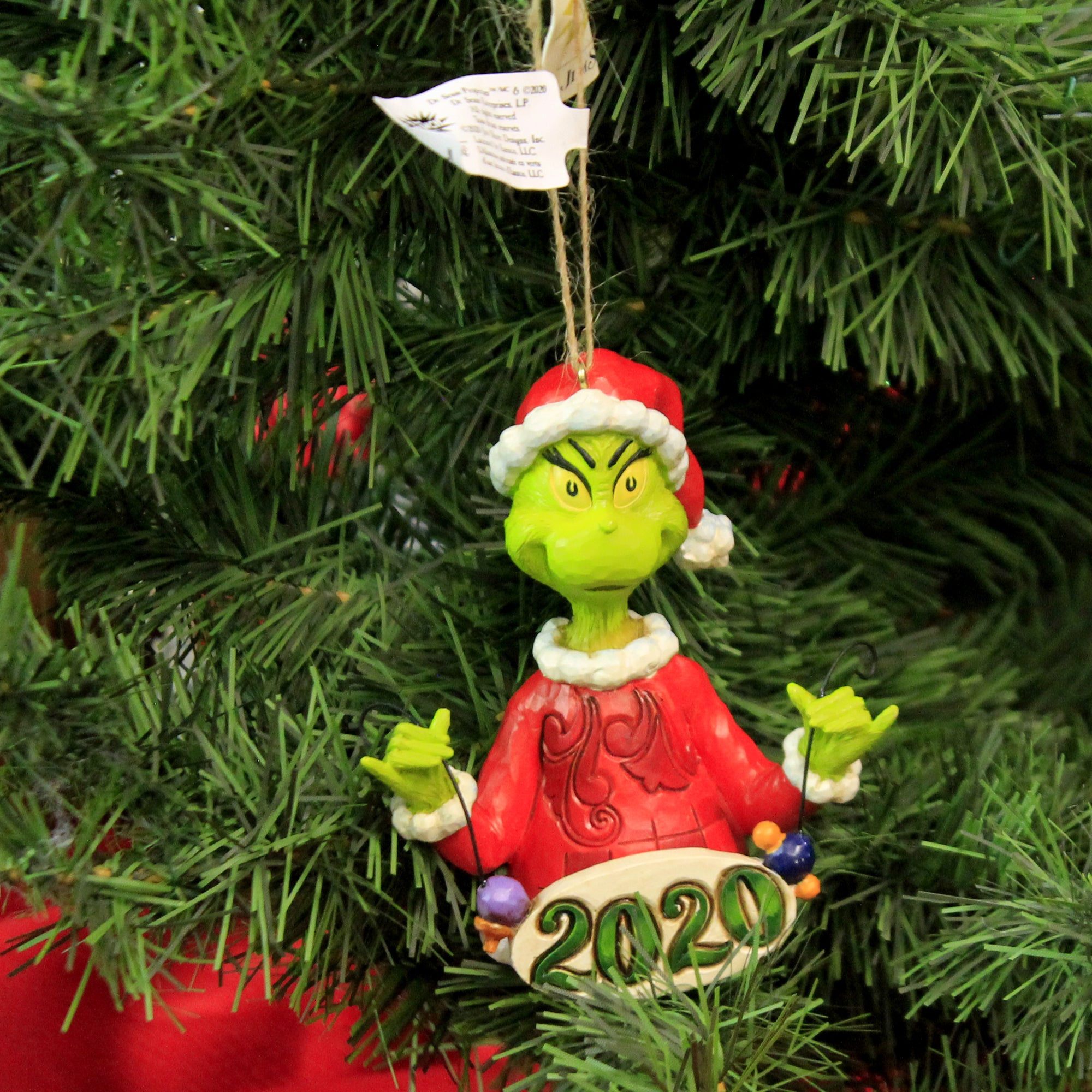 Jim Shore Grinch String Ornaments 2020 6006573 Decorative Hanging Ornaments Sbk Gifts Sbkgifts Com