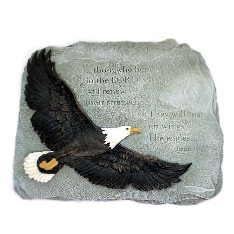 Eagles Wings Garden Stone 60873 Home & Garden Decorative Stepping Stones - SBKGIFTS.COM - SBK Gifts Christmas Shop Cincinnati - Story Book Kids