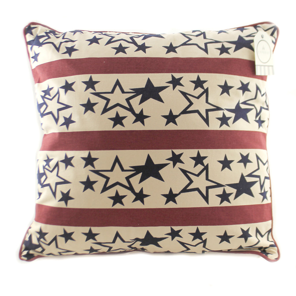 Americana Stars Pillow 4P4023 Home Decor Decorative Pillows - SBKGIFTS.COM - SBK Gifts Christmas Shop Cincinnati - Story Book Kids