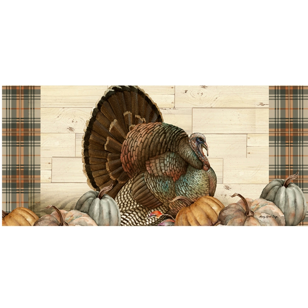 Pumpkin Time Turkey Mat 431752 Home & Garden Door Mats - SBKGIFTS.COM - SBK Gifts Christmas Shop Cincinnati - Story Book Kids