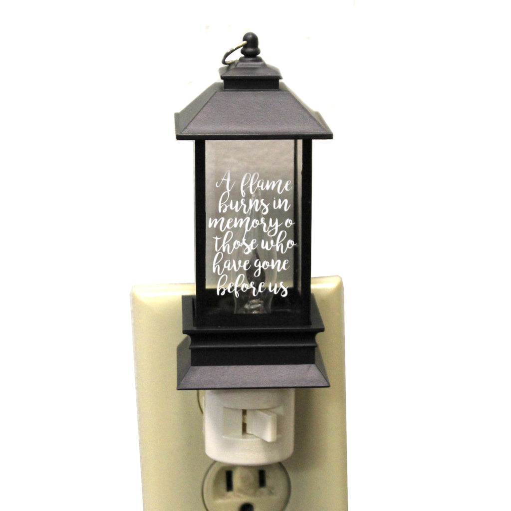 Memorial Lantern Night Light 160216 Christmas Night Lights - SBKGIFTS.COM - SBK Gifts Christmas Shop Cincinnati - Story Book Kids