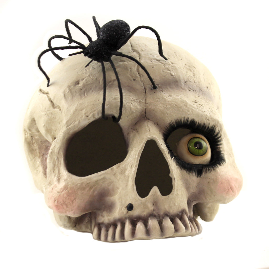 Miss Skeleton Skull Td9062 Halloween Figurines - SBKGIFTS.COM - SBK Gifts Christmas Shop Cincinnati - Story Book Kids