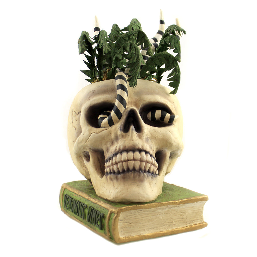 Vernomous Vines Skull Td9072 Halloween Figurines - SBKGIFTS.COM - SBK Gifts Christmas Shop Cincinnati - Story Book Kids
