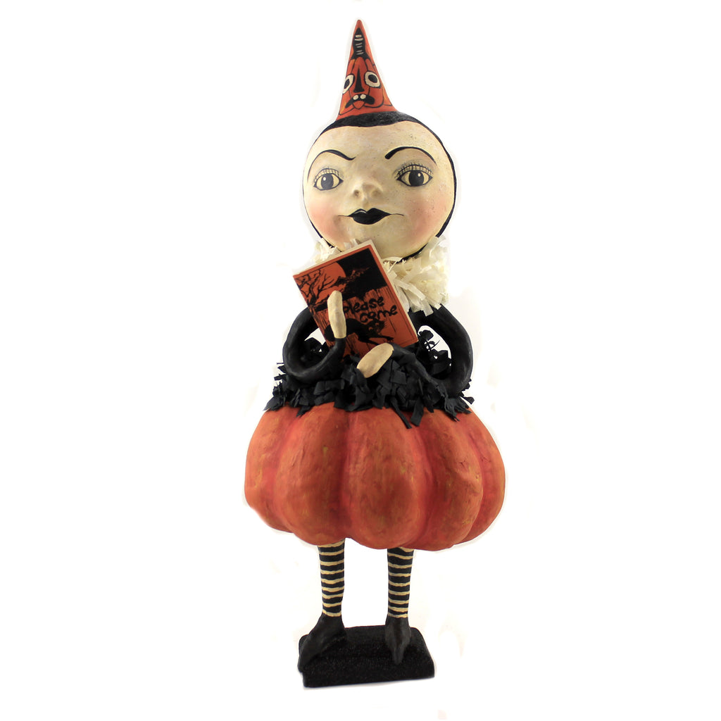 Party Pumpkin Girl Hh9215 Halloween Figurines - SBKGIFTS.COM - SBK Gifts Christmas Shop Cincinnati - Story Book Kids