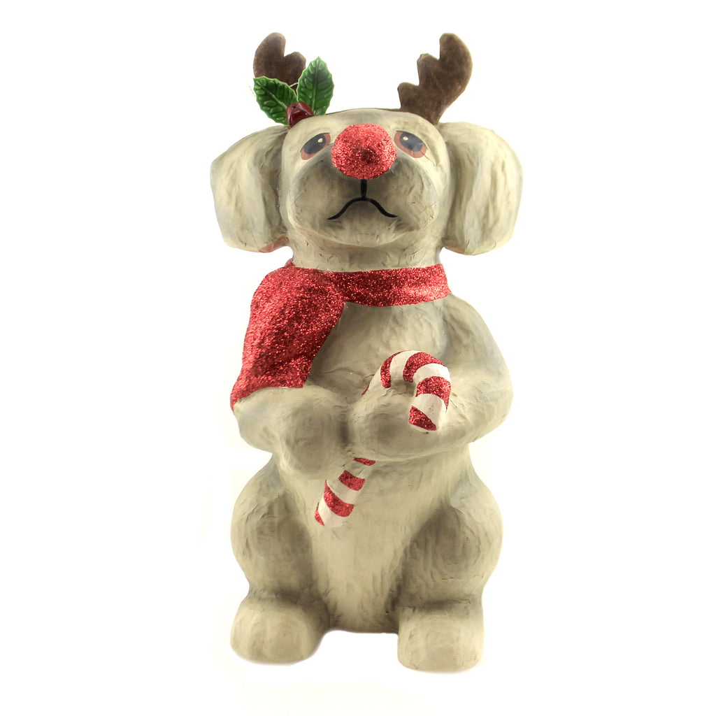 Large Reindeer Pup Tj9500 Christmas Figurines - SBKGIFTS.COM - SBK Gifts Christmas Shop Cincinnati - Story Book Kids