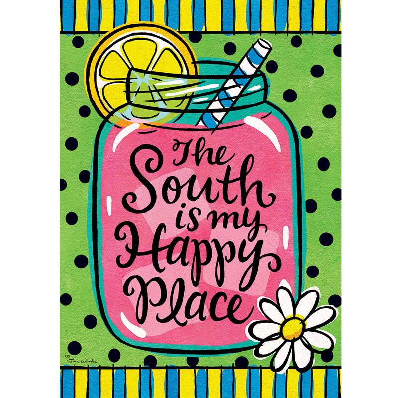 South Happy Place Garden Flag 3616Fm Home & Garden Other Garden Decor - SBKGIFTS.COM - SBK Gifts Christmas Shop Cincinnati - Story Book Kids