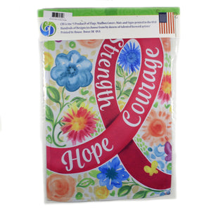 Hope Courage Strength Flag 3035Fm Home & Garden Other Garden Decor - SBKGIFTS.COM - SBK Gifts Christmas Shop Cincinnati - Story Book Kids