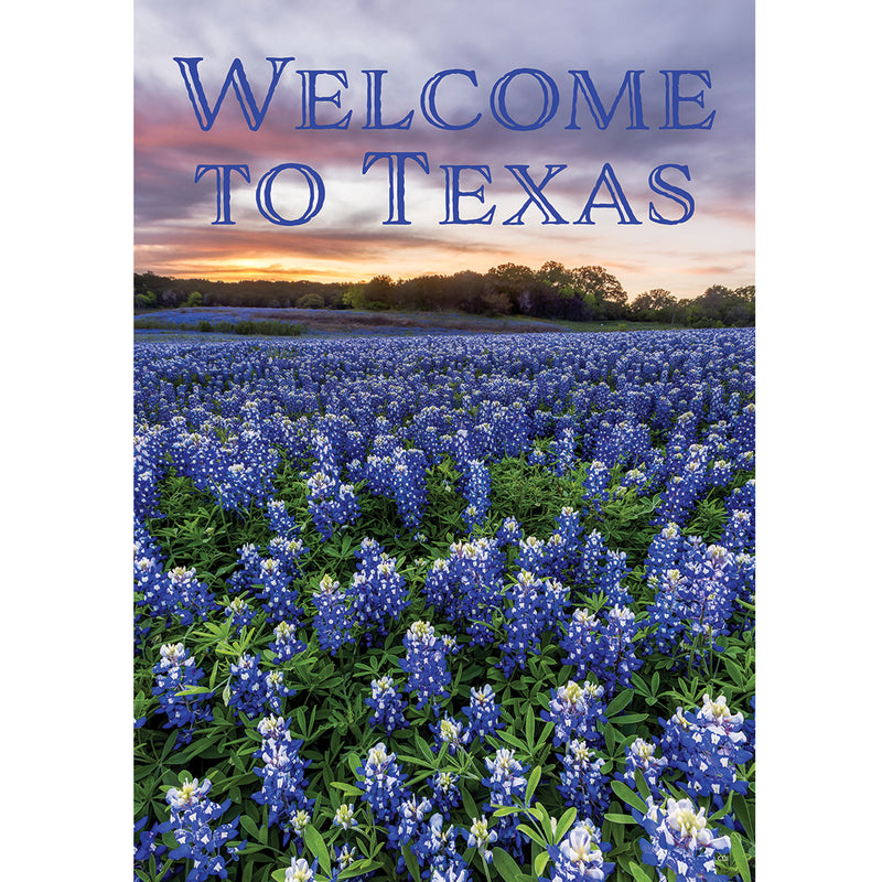 Welcome To Texas Garden Flag 3618Fm Home & Garden Other Garden Decor - SBKGIFTS.COM - SBK Gifts Christmas Shop Cincinnati - Story Book Kids