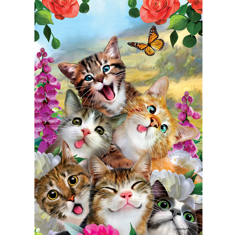 Cat Selfie Garden Flag 3142Fm Home & Garden Other Garden Decor - SBKGIFTS.COM - SBK Gifts Christmas Shop Cincinnati - Story Book Kids