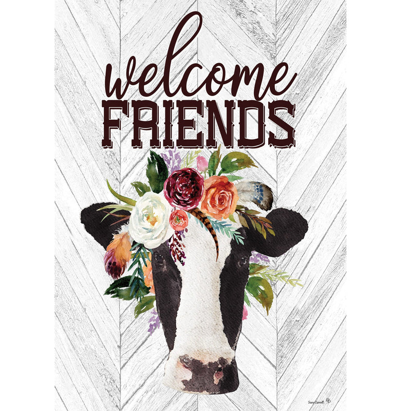 Boho Cow Garden Flag 4300Fm Home & Garden Other Garden Decor - SBKGIFTS.COM - SBK Gifts Christmas Shop Cincinnati - Story Book Kids