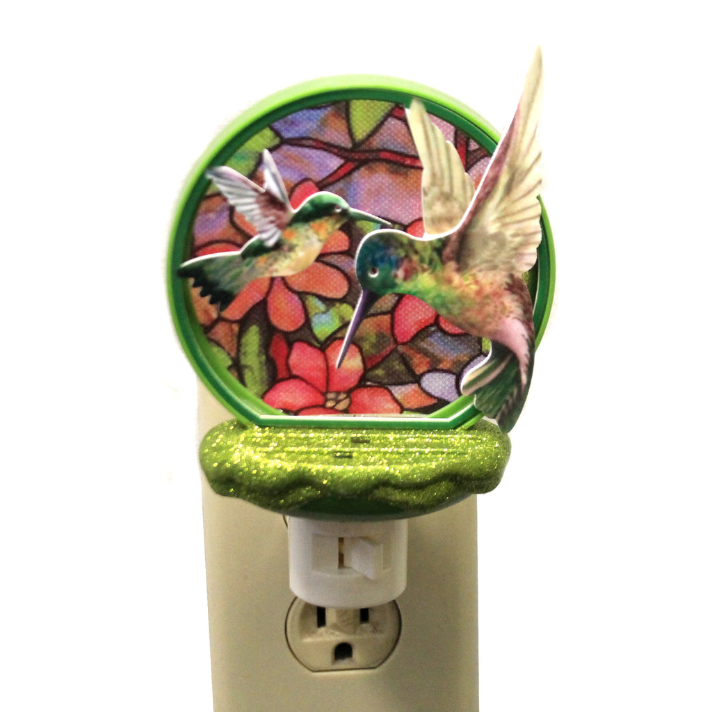 Hummingbird Nightlight 140900 Home Decor Night Lights - SBKGIFTS.COM - SBK Gifts Christmas Shop Cincinnati - Story Book Kids