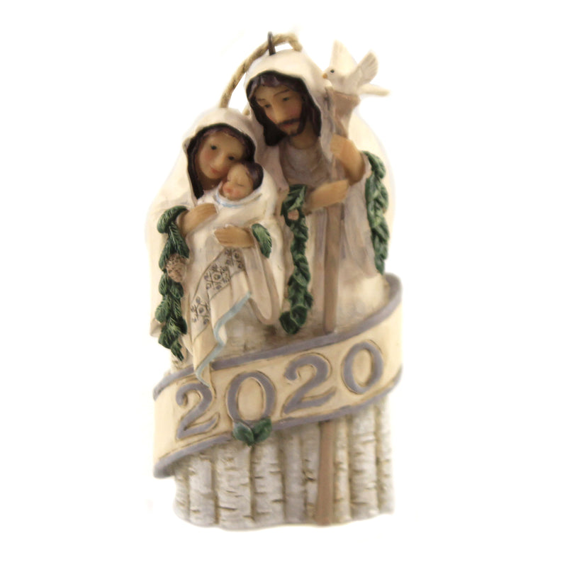 Holy Family Dated Ornament 6006588 Jim Shore Resin Ornaments - SBKGIFTS.COM - SBK Gifts Christmas Shop Cincinnati - Story Book Kids