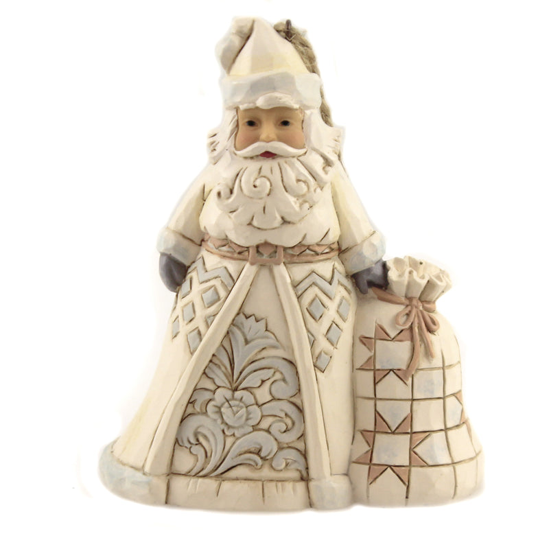 Santa With Toybag Ornamen 6006586 Jim Shore Resin Ornaments - SBKGIFTS.COM - SBK Gifts Christmas Shop Cincinnati - Story Book Kids
