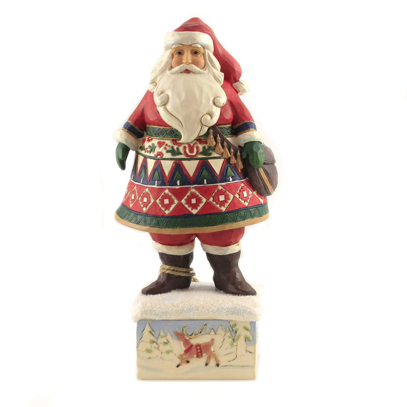 Feeling Festive In The Frost 6006631 Jim Shore Figurines - SBKGIFTS.COM - SBK Gifts Christmas Shop Cincinnati - Story Book Kids