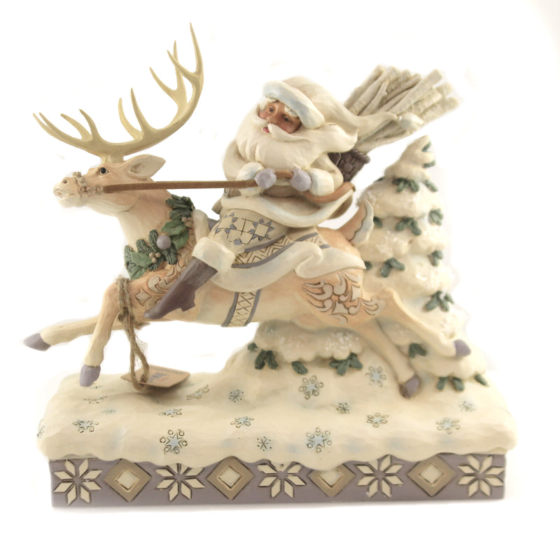 On Course For Christmas 6006579 Jim Shore Figurines - SBKGIFTS.COM - SBK Gifts Christmas Shop Cincinnati - Story Book Kids