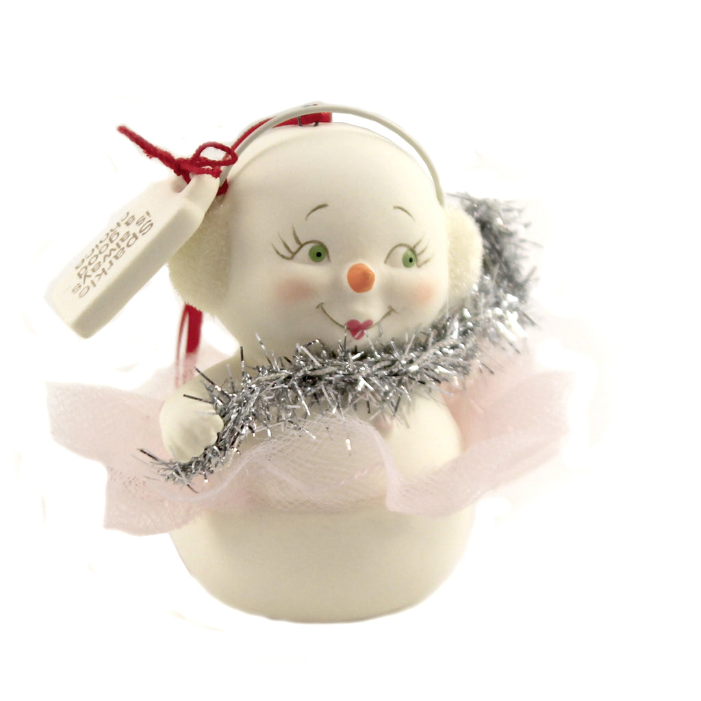 Sparkle Is Always A Good Choice 6005845 Holiday Ornament Porcelain Ornaments - SBKGIFTS.COM - SBK Gifts Christmas Shop Cincinnati - Story Book Kids