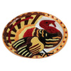 Turkey Oval Platter Gp006 Tabletop Plates And Platters - SBKGIFTS.COM - SBK Gifts Christmas Shop Cincinnati - Story Book Kids