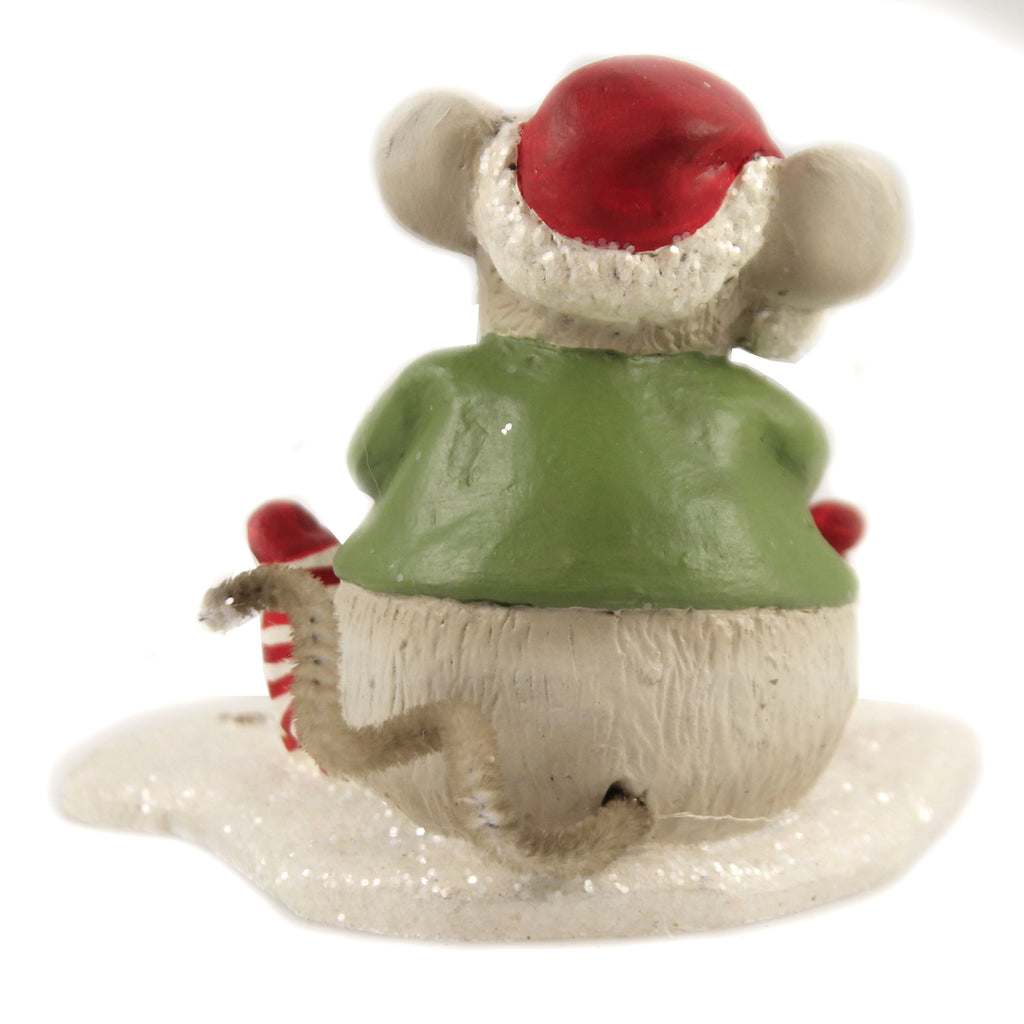Nibbles Mouse Td9032 Christmas Figurines - SBKGIFTS.COM - SBK Gifts Christmas Shop Cincinnati - Story Book Kids