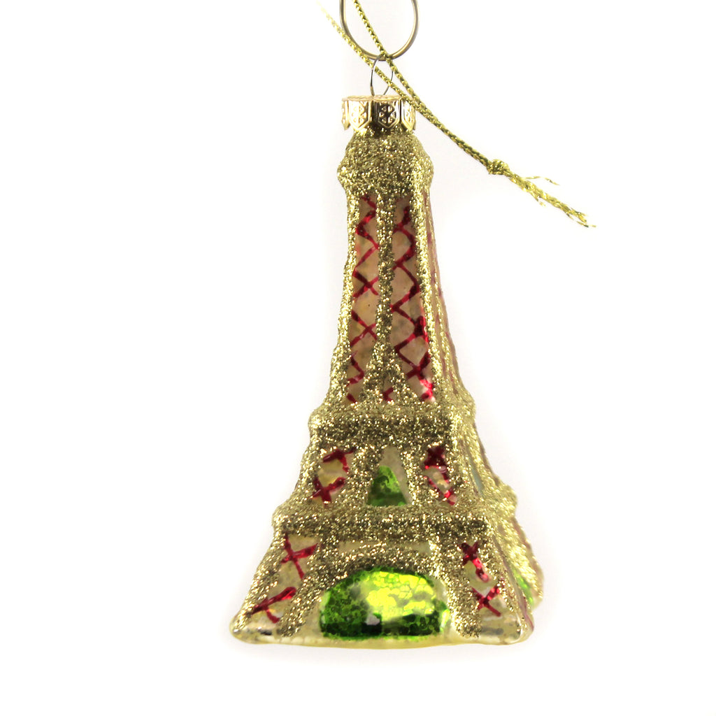 I Dream Of Paris Lc8327 Holiday Ornament Glass Ornaments - SBKGIFTS.COM - SBK Gifts Christmas Shop Cincinnati - Story Book Kids