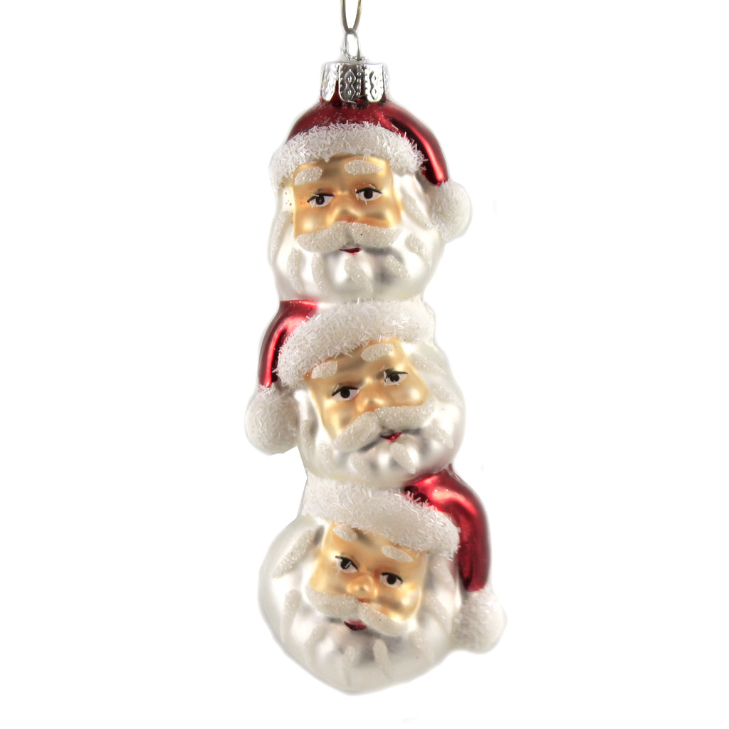 Santa Topiary Lc8331 Holiday Ornament Glass Ornaments - SBKGIFTS.COM - SBK Gifts Christmas Shop Cincinnati - Story Book Kids